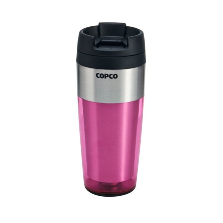 Copco 16 Ounce Firefly Stainless Steel Pink (Champions 16 Ounce Tumbler)