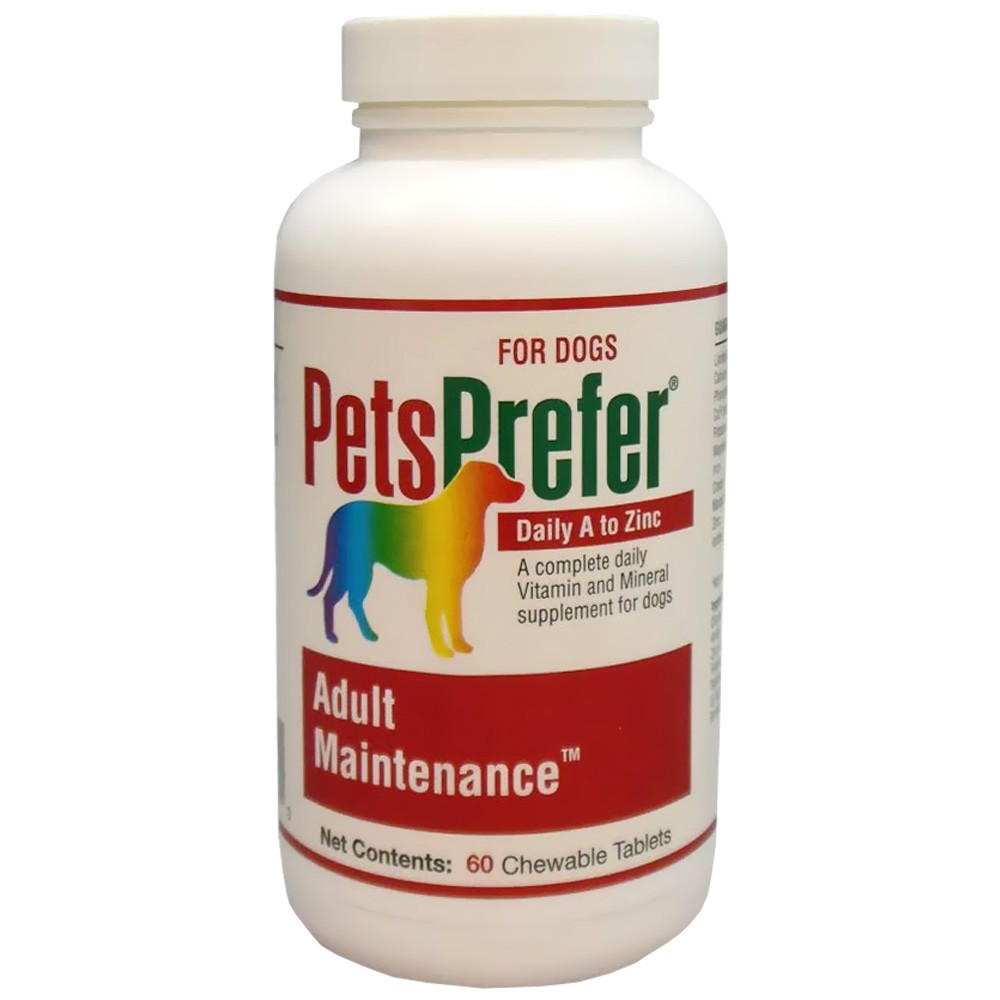 Pets Prefer Adult Maintenance - Canine (60 count)