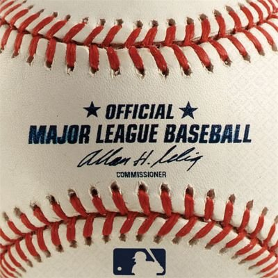 Rawlings Baseball Dessert Napkins 36 Pack - Baseball Napkins