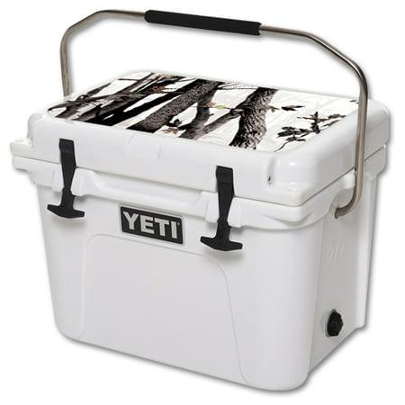 Skin Decal Wrap For Yeti Roadie 20 Qt Cooler Lid Artic Camo