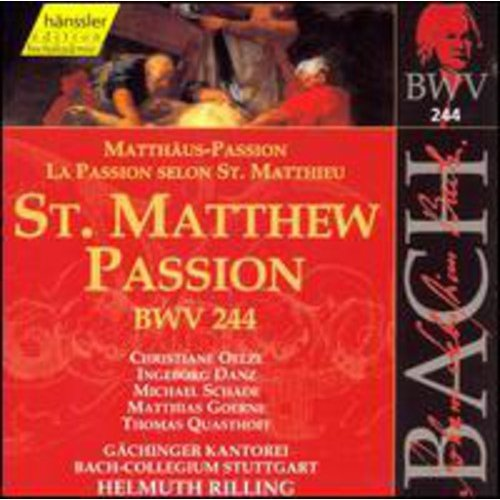St Matthew's Passion