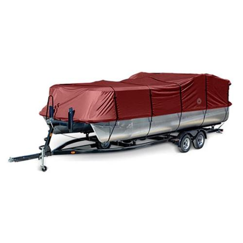 Eevelle WAMP1720R Wake Monsoon Series Pontoon Cover - Runner Red