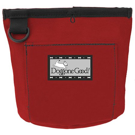 Trek & Train Bait Bag WITH BELT from Doggone Good! Professional Quality ()