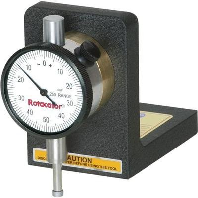 Magnetic Rotocator Blade Run Out Indicator Gauge for Table Saw Machine -