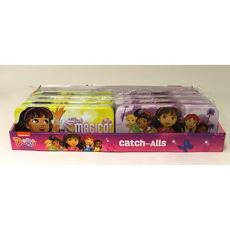 Pencil Box - Dora the Explorer - Friends Metal Tin Case 413707 (1 Case Only)
