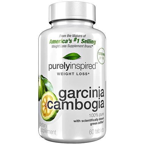 Purely Inspired Weight Loss Garcinia Cambogia Tablets, 60 count