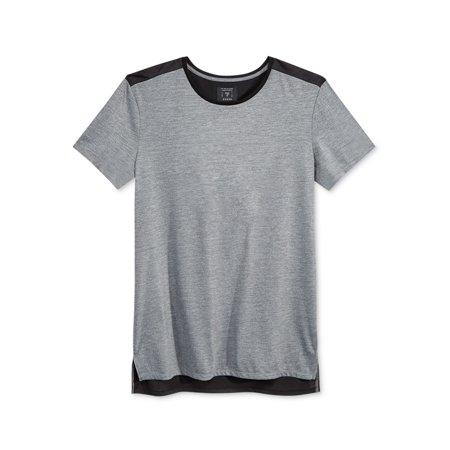 a316819c8fef GUESS Mens Colorblock Short Sleeve Basic T-Shirt gunmetalgrey XL - image 1  of 1 ...