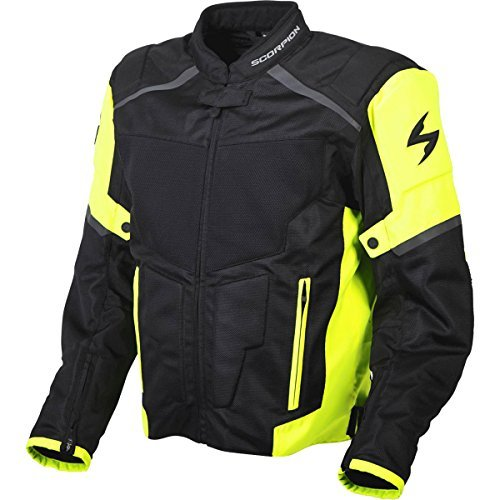 ScorpionExo Men's Influx Jacket (Hi-Viz, Large)