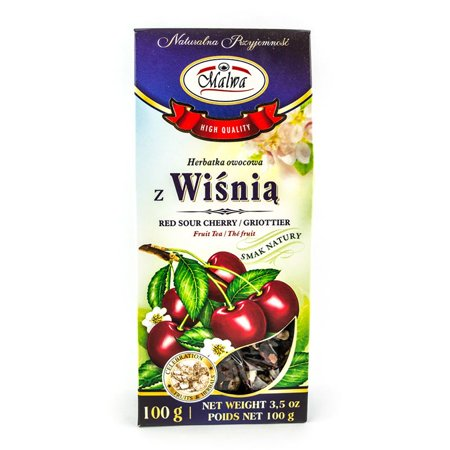 Malwa Fruit Tea Red Sour Cherry Tea, 100g