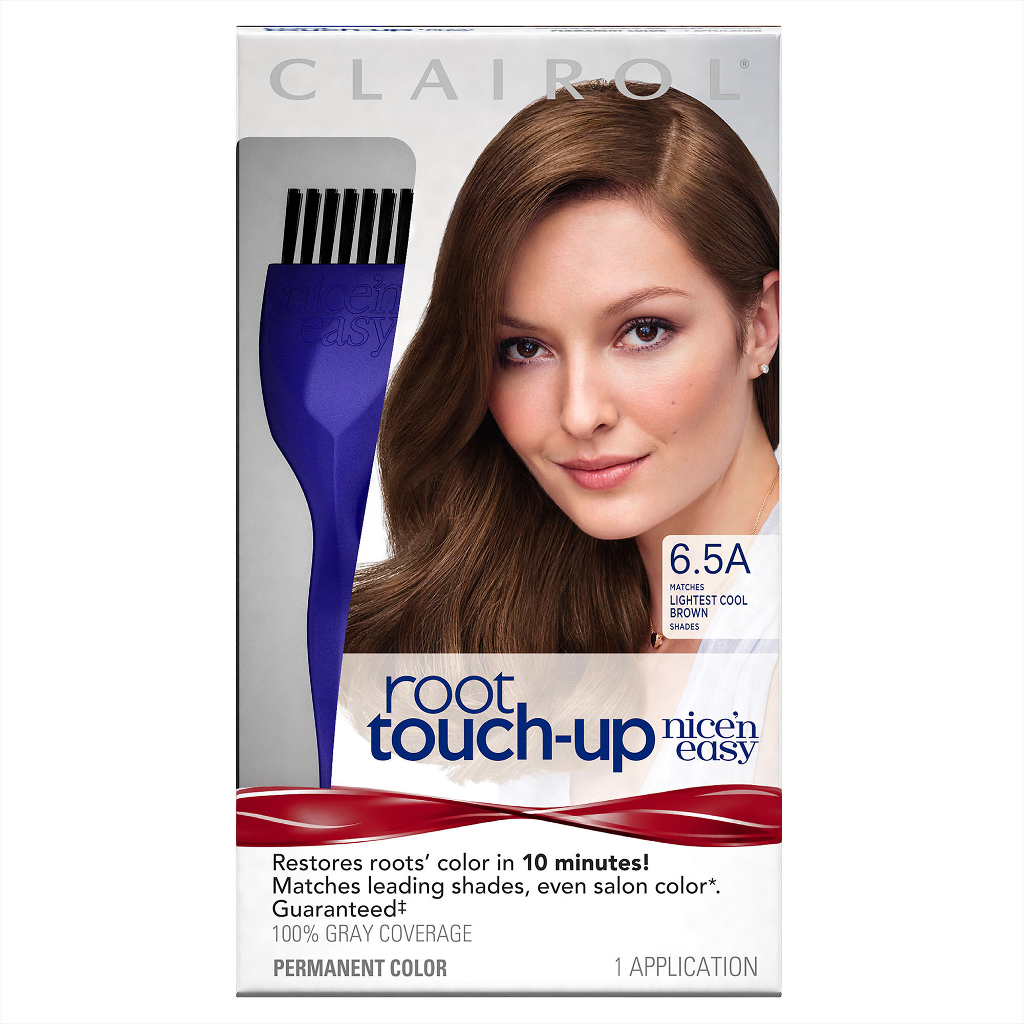 Clairol Nice N Easy Root Touch Up Permanent Hair Color 65a