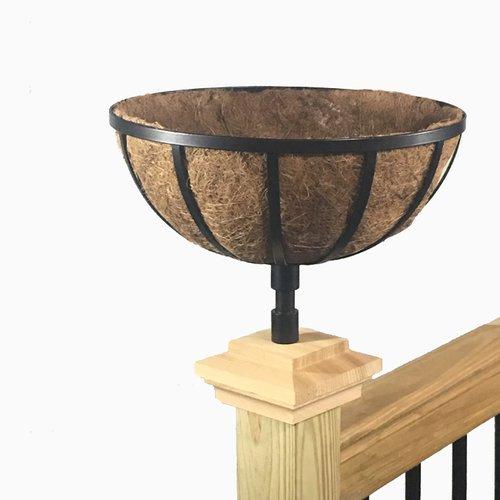 August Grove Buckman Basket Rail Planter