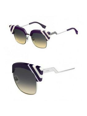 d9b317edf0 Product Image Sunglasses Fendi Ff 241  S 0B3V Violet   GA brown ochre lens