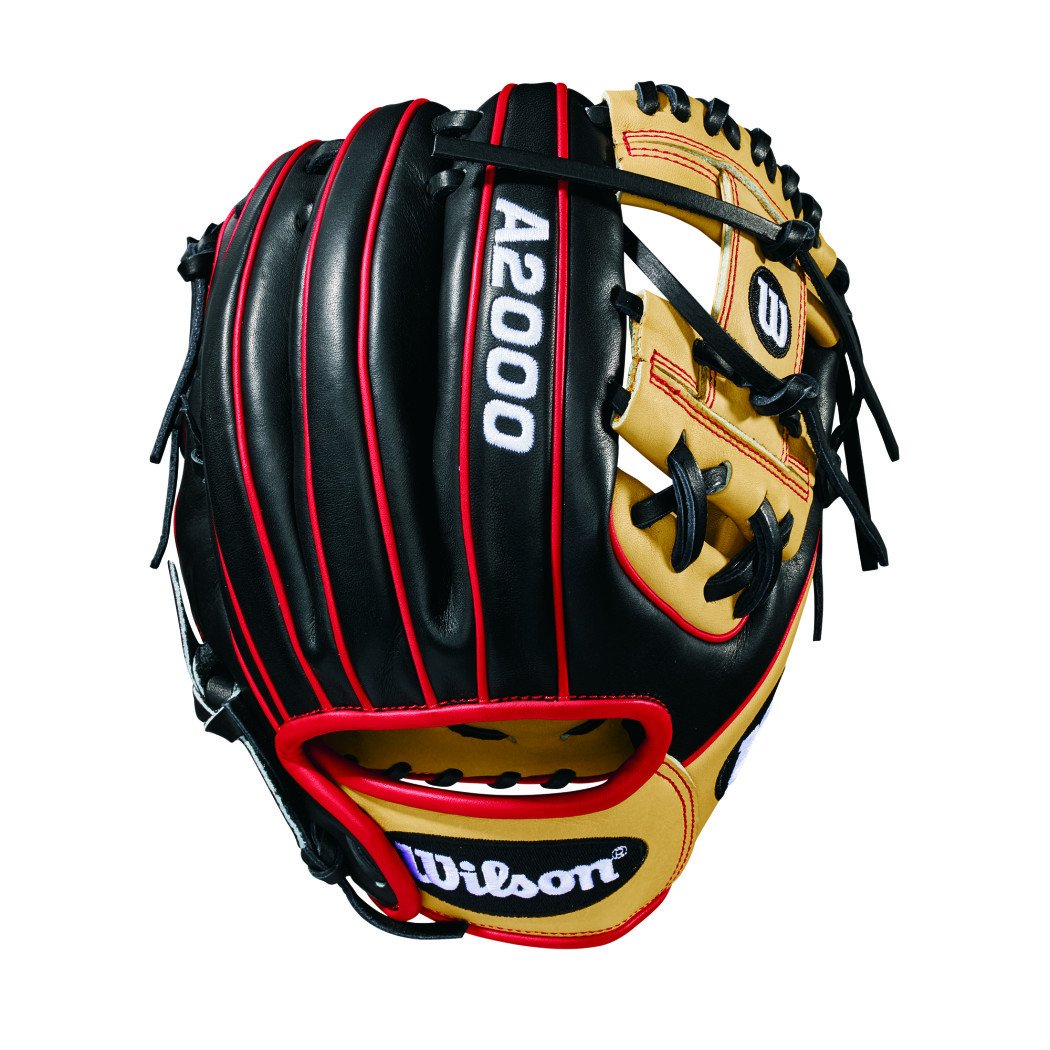 2018 Wilson A2000 Pedroia Fit PF88 (IF) Baseball Glove, 1...
