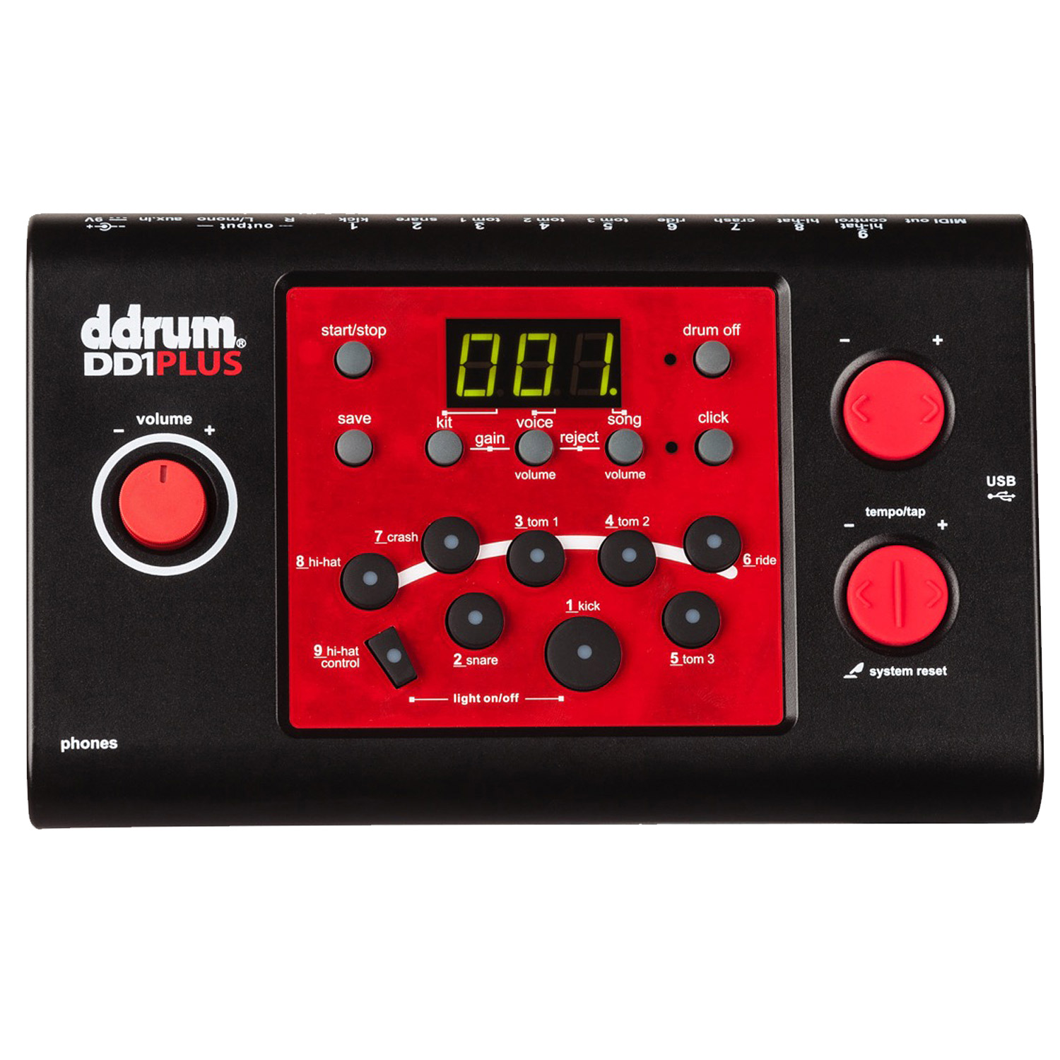 ddrum DD1M PLUS Electronic Drum Module by ARMADILLO