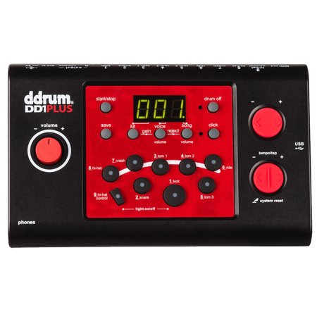ddrum DD1M PLUS Electronic Drum Module