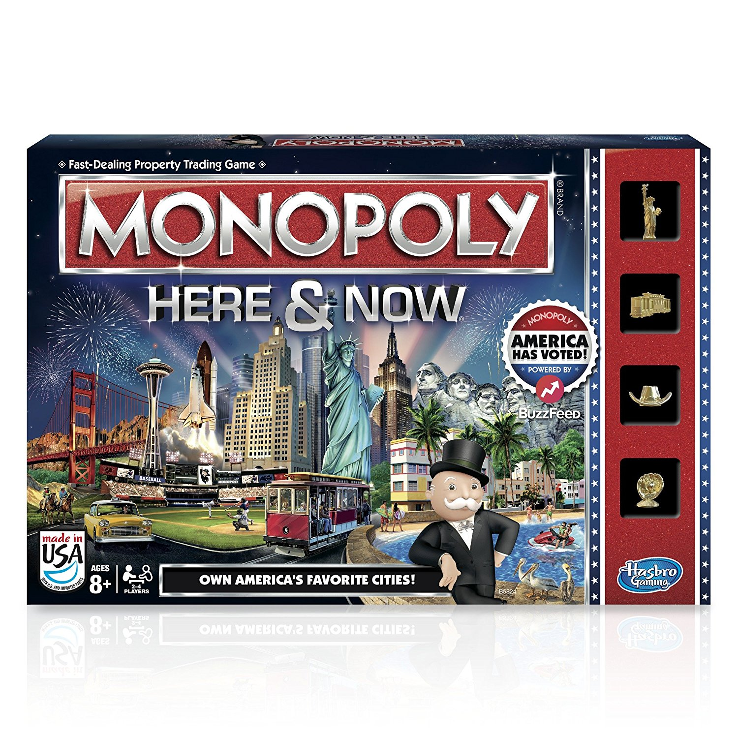 Monopoly Here & Now Game: US Edition, Ball A Import Guide Nintendo Entertainment Epic... by