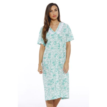 6ff4c511a283 Just Love Short Sleeve Nightgown / Women Sleepwear (Mint Tulip, XX-Large,  Gowns)