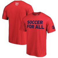 New York Red Bulls Fanatics Branded 2018 Soccer For All T-Shirt - Red