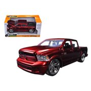 Jada 54040r 2014 Dodge Ram 1500 Pick Up Truck Red Custom Edition 1-24 Diecast Model