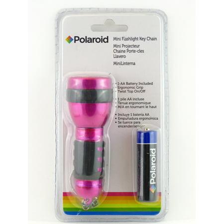 Polaroid Mini Flashlight Key Chain - Flashlight Key Chains