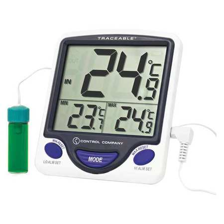 TRACEABLE 4648 Digital Thermometer, 5 ml Vaccine Jumbo