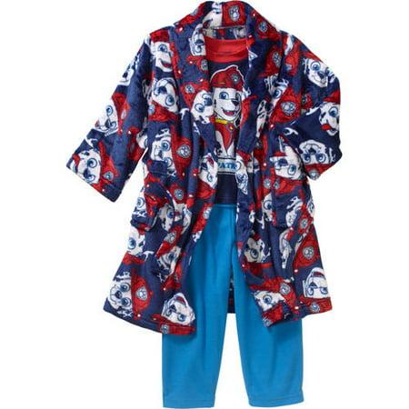 PAW Patrol - Patrol Toddler Boy Robe   Pajama 3 Pc Sleepwear Gift Set -  Walmart.com e499e6990