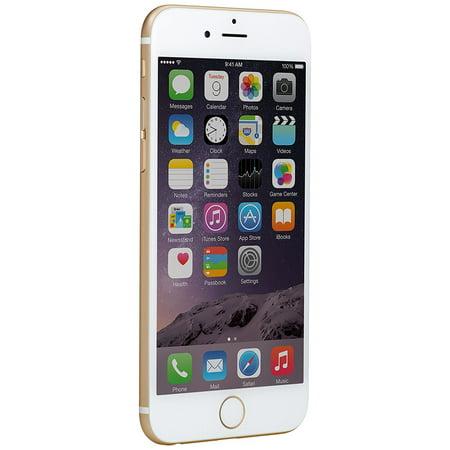 Refurbished Apple iPhone 6, Gold, 128GB (Verizon & Unlocked) ()