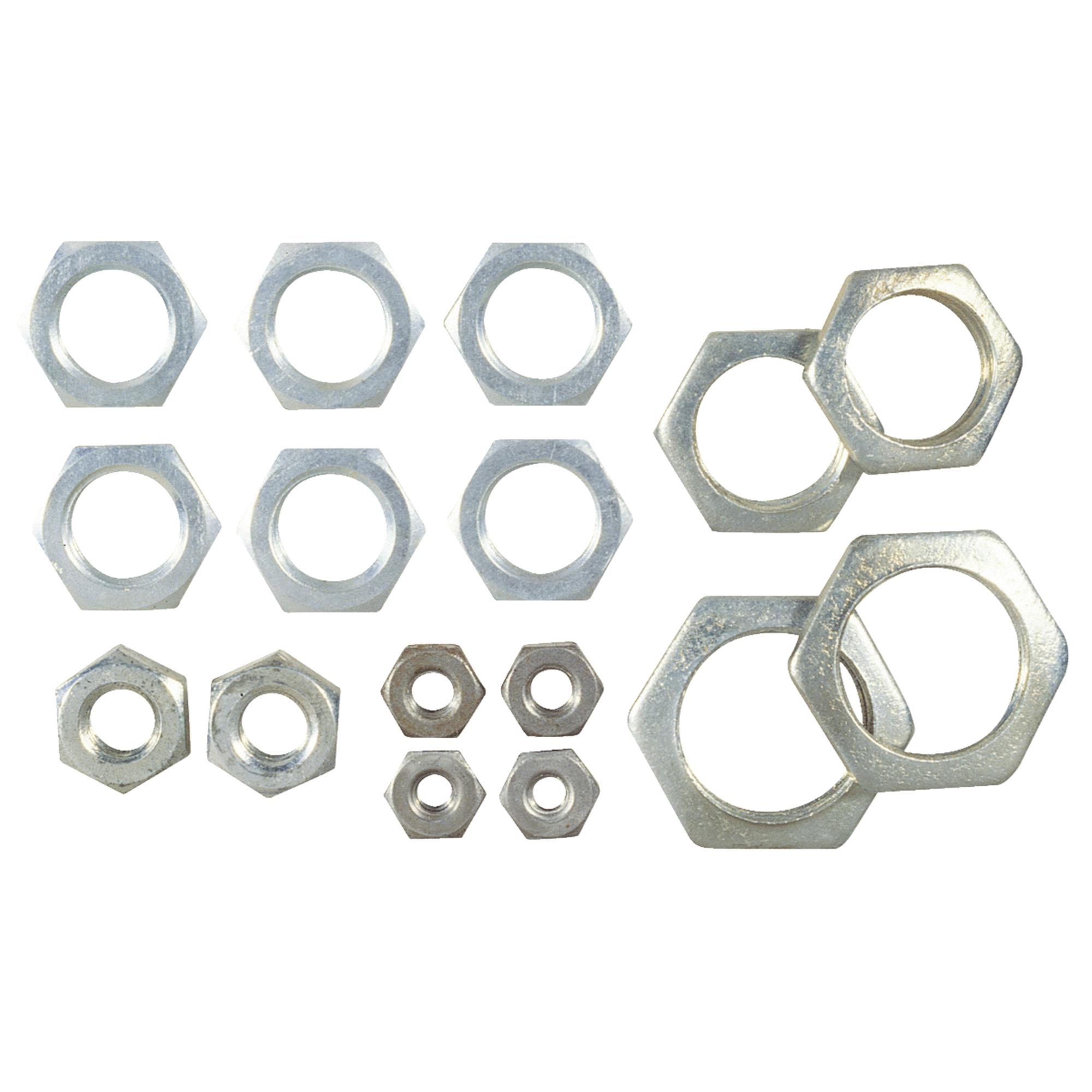 16pc Locknut Assortment