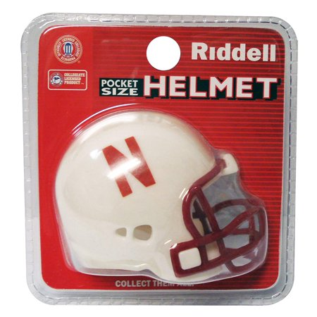 NFL Nebraska Cornhuskers Pocket Pro Helmet, Replica Pocket Size Mini Helmet By (Tb Replica Mini Helmet)