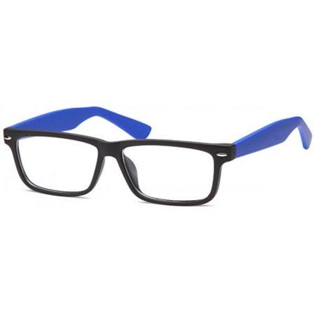 K-Mars Blog Black Blue Plastic Eyeglasses 50mm (Eyeglasses Blog)