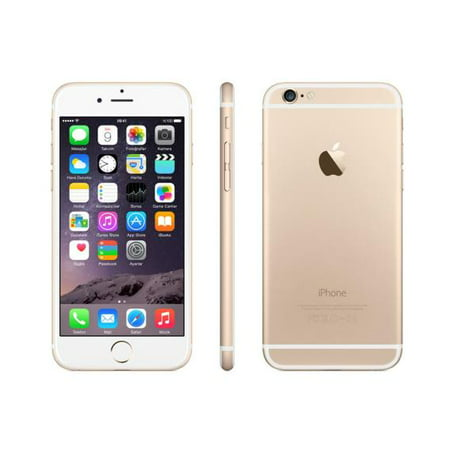 Refurbished Apple iPhone 6 64GB, Gold - AT&T