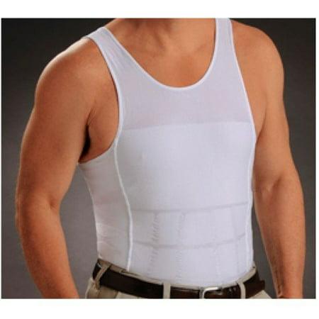 72481ba98f1 New Men s Athletic Muscle Tank Top Slimming Body Shaper Compression  Undershirt - Small - Walmart.com