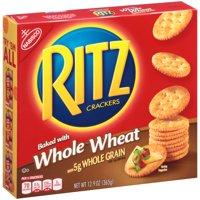 Nabisco Ritz Whole Wheat Classic Crackers, 12.9 Oz.