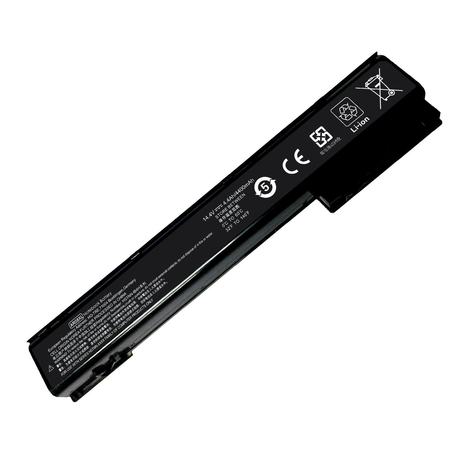 Superb Choice® 8-cell Battery for HP Zbook 15, 17, 15 G1, 15 G2, 17 G1, 17 G2, PN: AR08 AR08XL