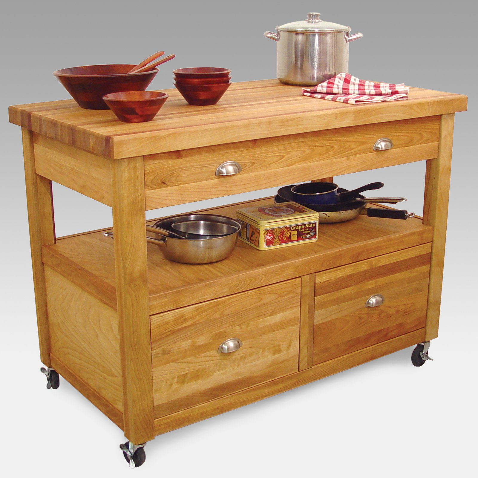 Grand Americana Workcenter Kitchen Island