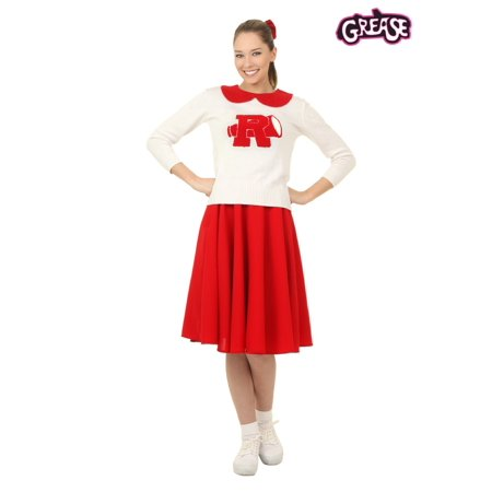 Grease Rydell High Plus Size Womens Cheerleader Costume - Cheap Grease Costumes