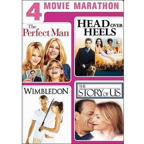 4 Movie Marathon: Romantic Comedy Collection - The Perfect Man / Head Over Heels / Wimbledon / The Story Of Us (Widescreen)