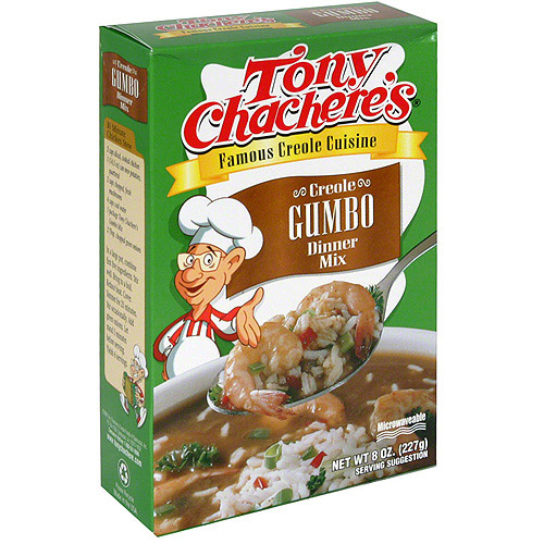 Tony Chachere's Famous Creole Cuisine Creole Gumbo Dinner Mix, 8 oz (Pack of 12) by Tony Chachere's