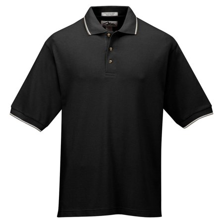 Tri Mountain Mens Big And Tall Mesh Golf Shirt
