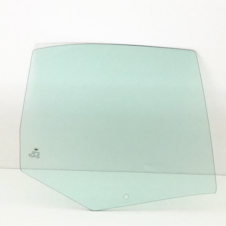 Rear Side Glass - For 2000-2005 Volkswagen Jetta Passenger/Right Side Rear Door Window Replacement Glass
