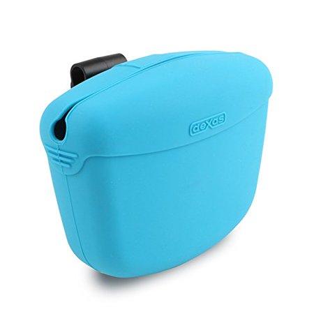Dexas Popware for Pets Pooch Pouch, Gray/Blue