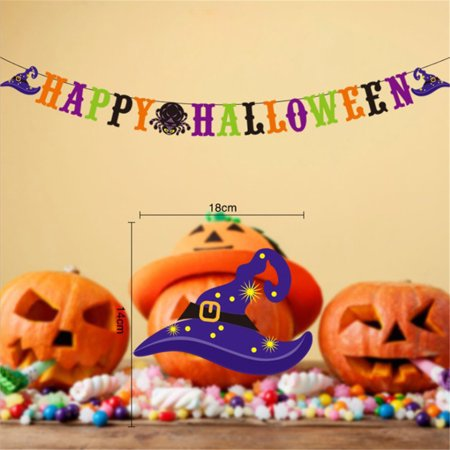 Halloween masquerade event layout decoration flag banner - image 1 of 1