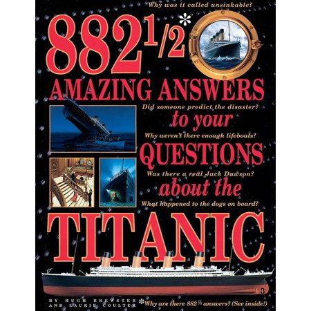 Books About Halloween History (882 1/2 Amazing Answers to Your Questions about the Titanic)