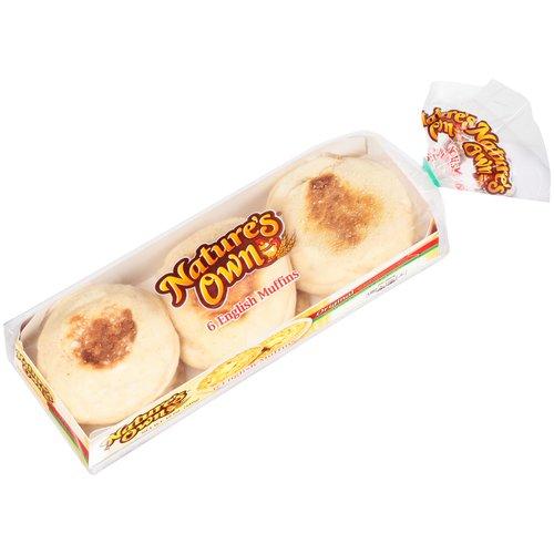 Nature's Own Original English Muffins, 6 ct, 12 oz