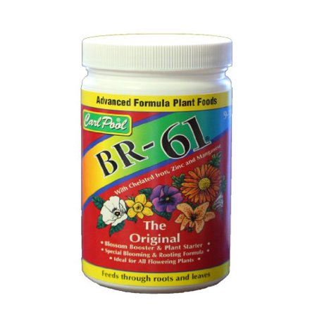 (BR-61 Advanced Formula Plant Foods Ideal for All Flowering Plants by Carl Pool)