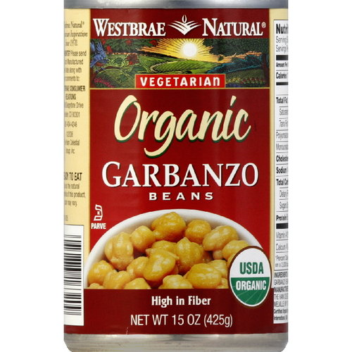 Westbrae Natural Garbanzo Beans, 15 oz (Pack of 12)