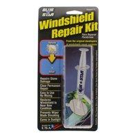 Blue Star Windshield Repair Kit - Does ONE repair