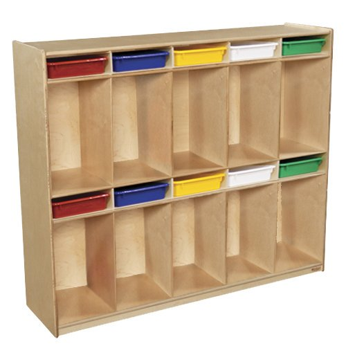 Wood Designs Contender 5 Wide Kids Locker Walmart Com Walmart Com