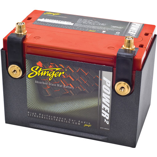 Stinger SPP1500DC 1,500-Amp Battery with Dual Posts