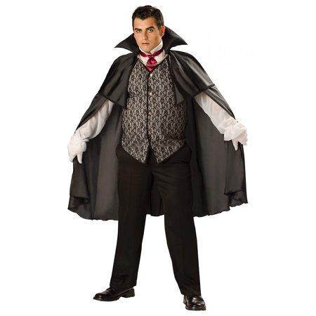 Midnight Vampire Costume (Midnight Vampire Adult Costume -)